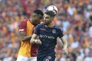 Ryan Donk Rijad Bajic Galatasaray Basaksehir Turkish Super League 05/19/19