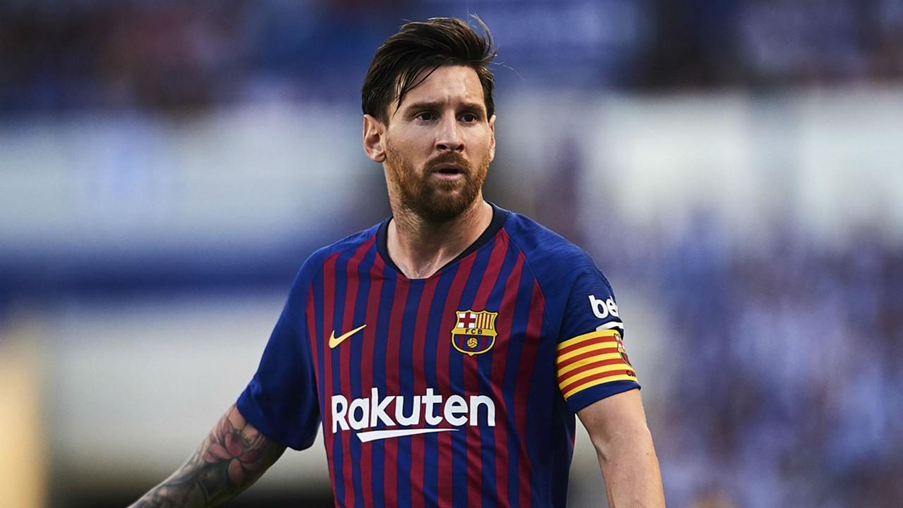 Messi aparece com novo visual no treino do barcelona goal stopboris Image collections