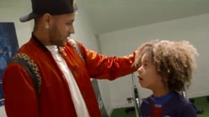 Neymar meets Australian fan