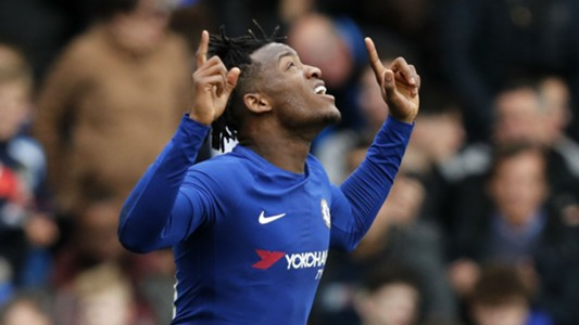 Michy Batshuayi Chelsea Newcastle 28012018
