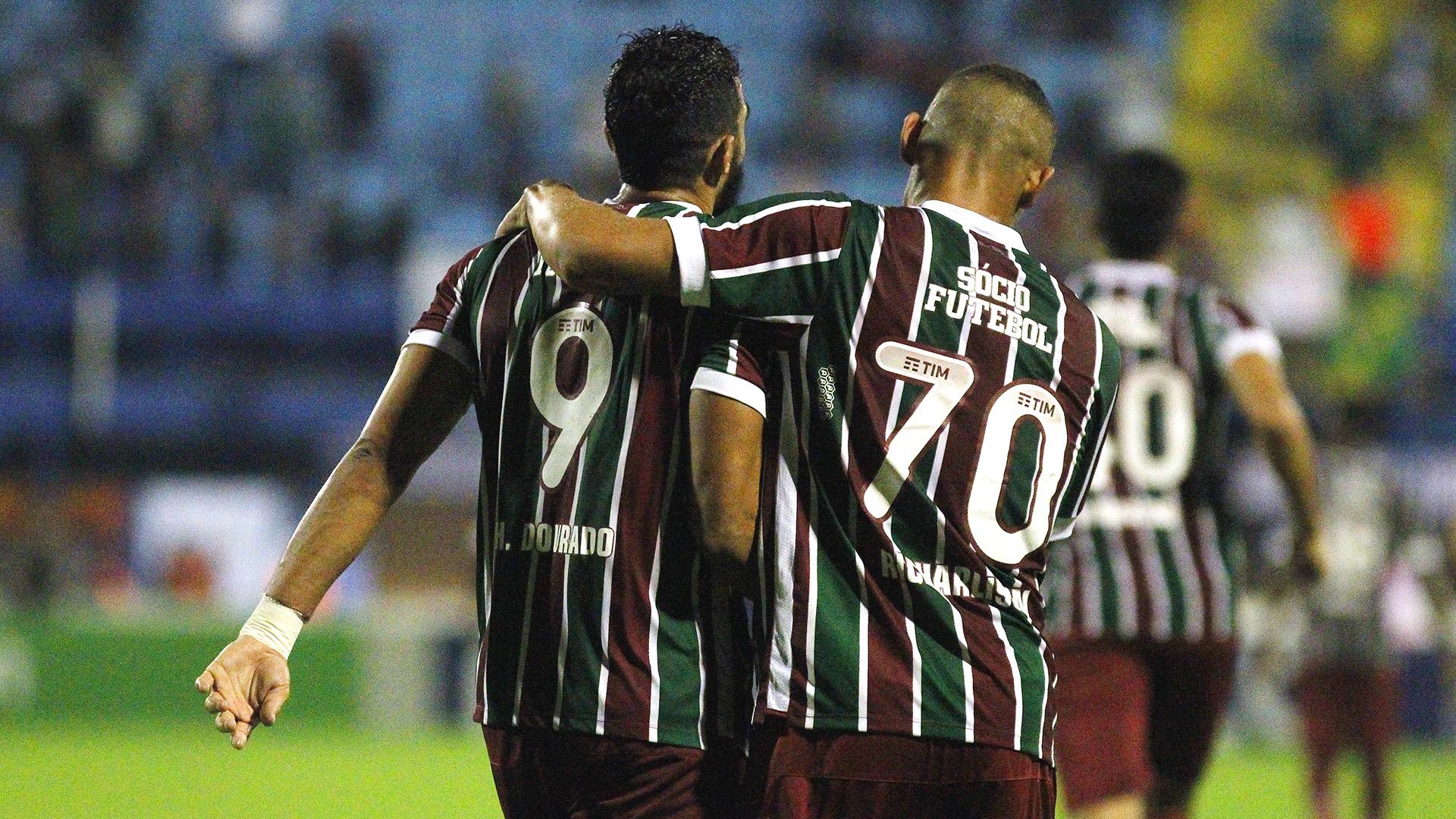 Richarlison Henrique Dourado Avai Fluminense Brasileirao Serie A 21062017