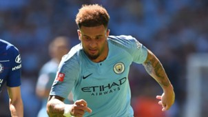 Kyle Walker Chelsea Manchester City Community Shield 2018-19