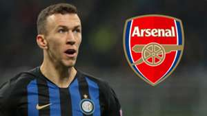 Ivan Perisic, Inter, Arsenal logo