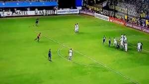Captura TV Boca Tolima Copa Libertadores Gol Zarate 120319
