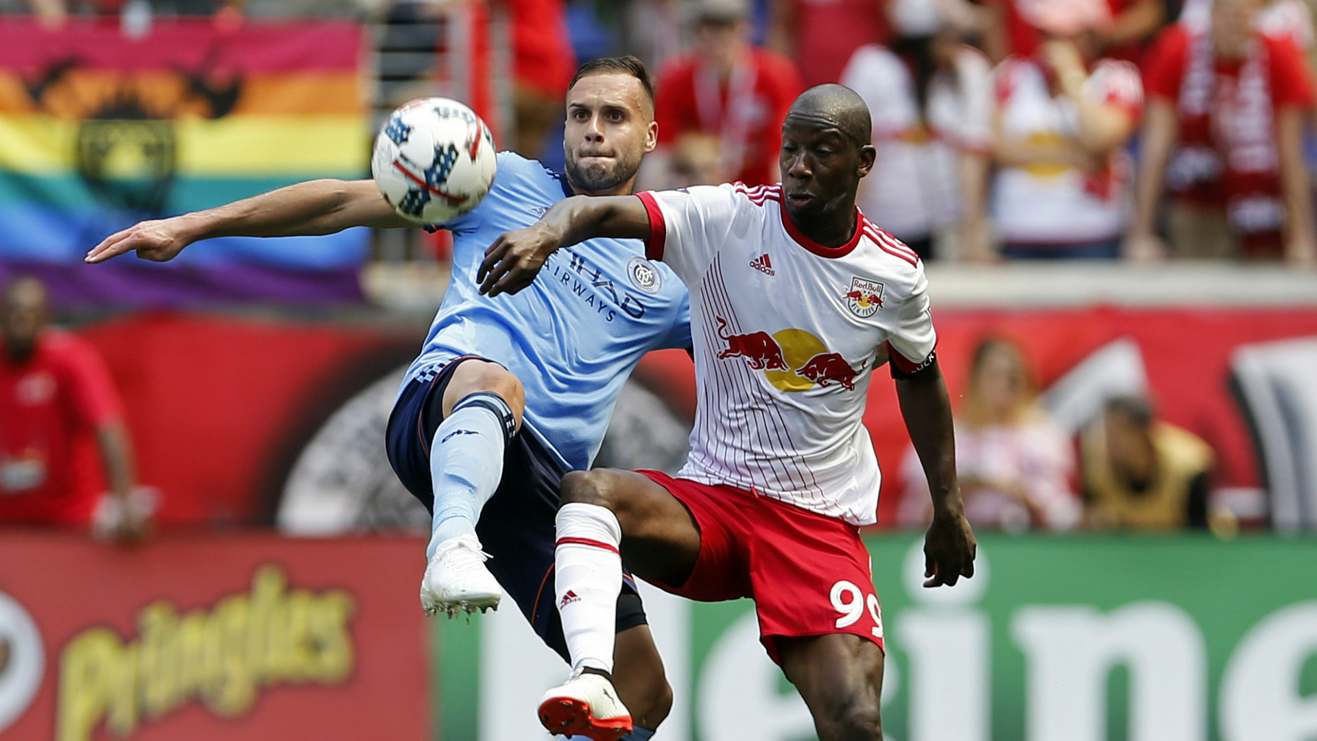 Bradley Wright-Phillips Maxime Chanot MLS 06242017