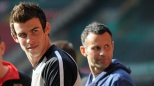 Ryan Giggs Gareth Bale Manchester United