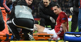 Zlatan Ibrahimovic Manchester United Europa League