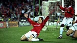 Ole Gunnar Solskjaer Manchester United 1999