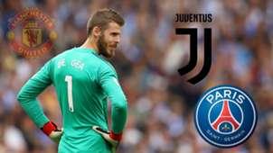 GFX David De Gea Juventus PSG