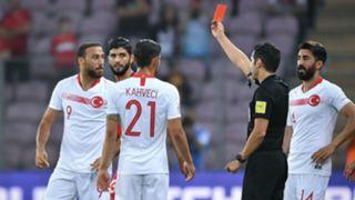 Cenk Tosun Turkey Tunisia international friendly 2018