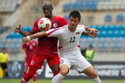 Eaff championship quailfier, Hong Kong 0:0 North Korea.