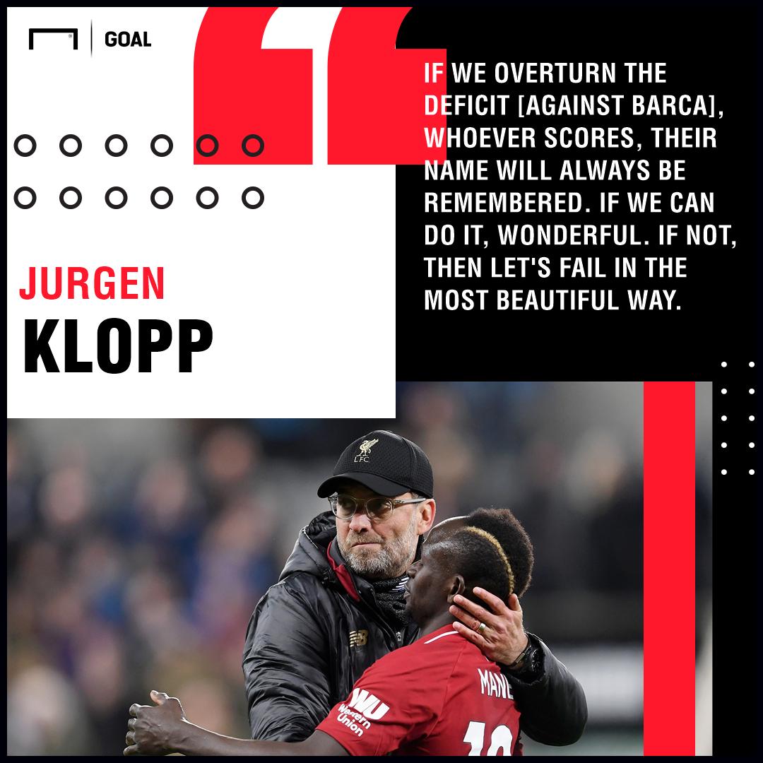 Jurgen Klopp Barcelona PS