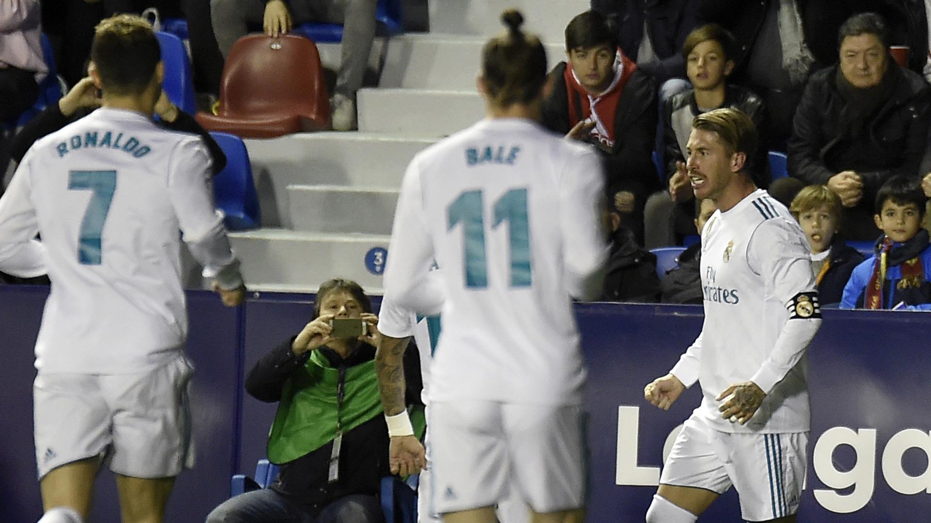 Sergio Ramos Real Madrid LaLiga 03022018