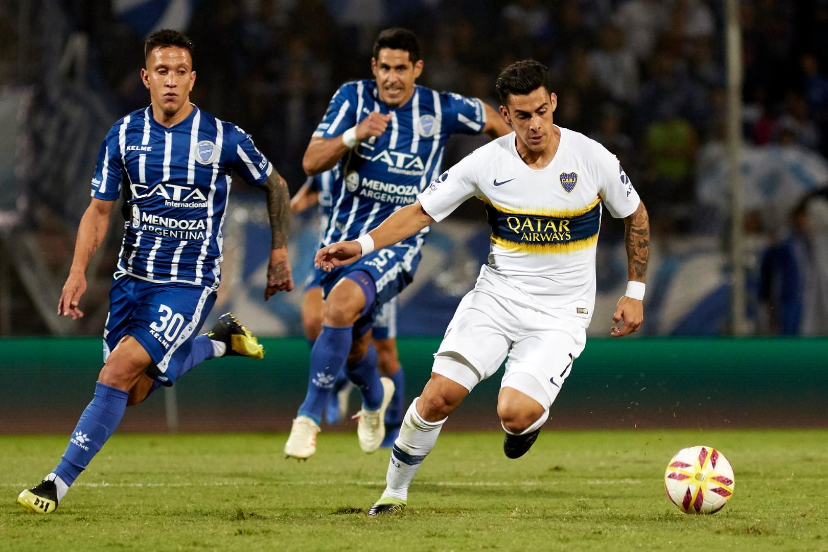 Cristian Pavon Juan Andrada Godoy Cruz Boca Copa Superliga 280419