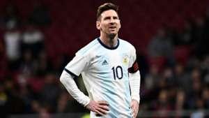 Lionel Messi Argentina 22032019