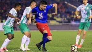 Gabriel Guerra, Johor Darul Ta'zim, Melaka United, Super League, 06/05/2017
