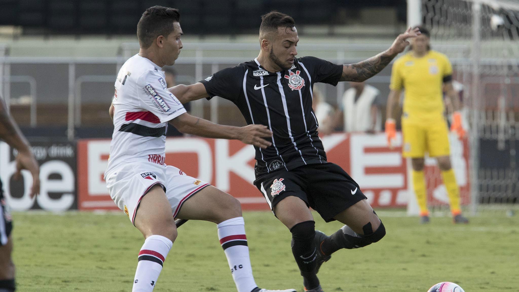 Maycon e Petros - Corinthians x São Paulo - 25/03/2018