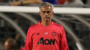 Jose Mourinho Man Utd pre-season 2018-19