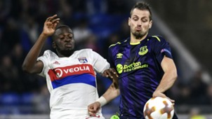 Morgan Schneiderlin Tanguy Ndombele Lyon Everton UEFA Europa League 02112017