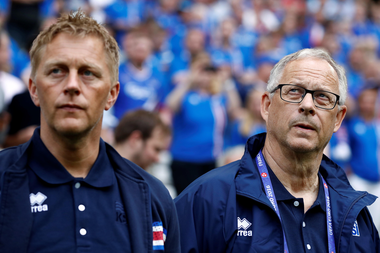 Heimir Hallgrímsson, Lars Lagerbäck - Iceland