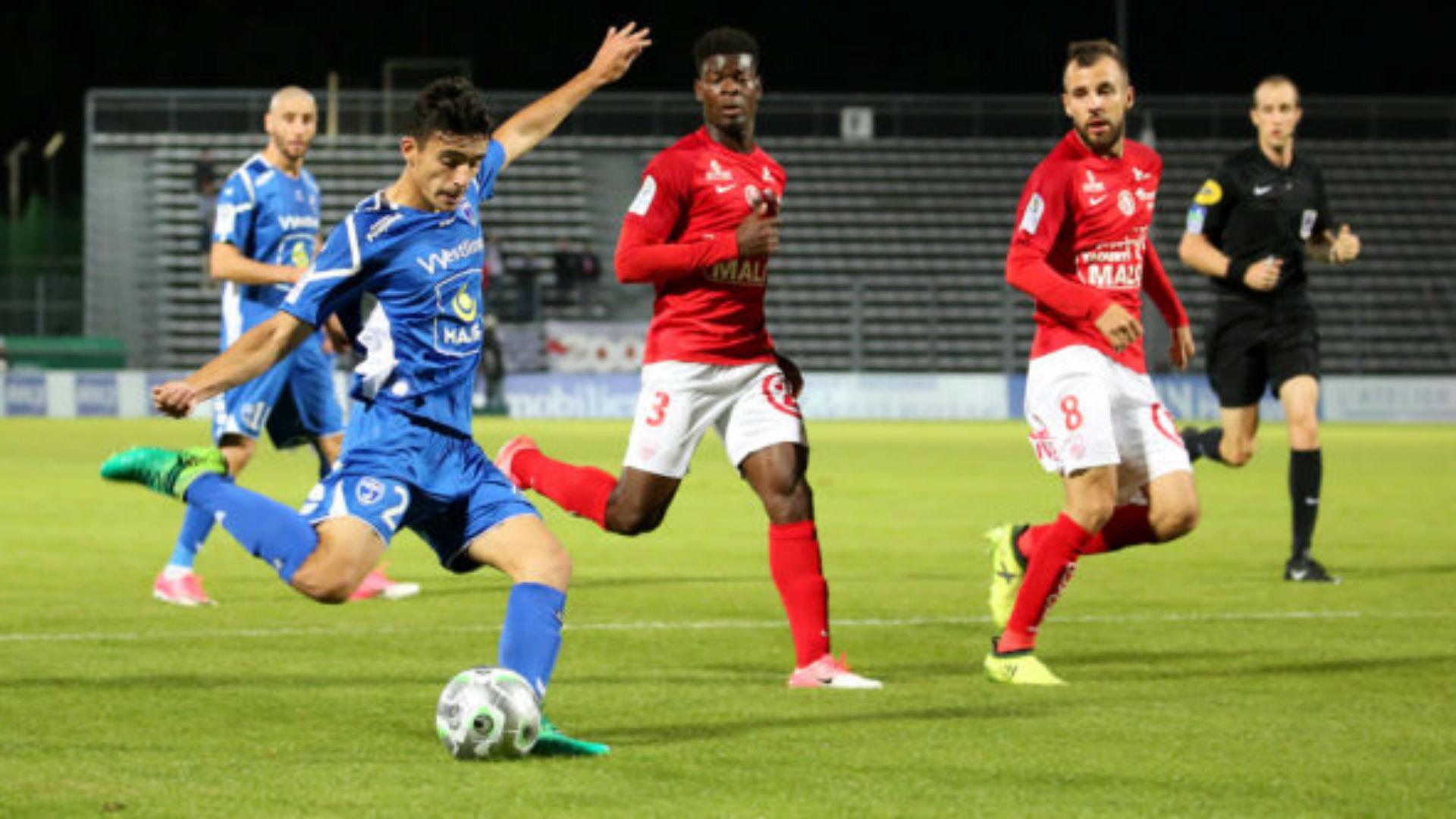 Tom Lebeau Niort Ligue 2