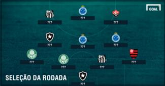 Seleção da 25ª rodada do Brasileirão