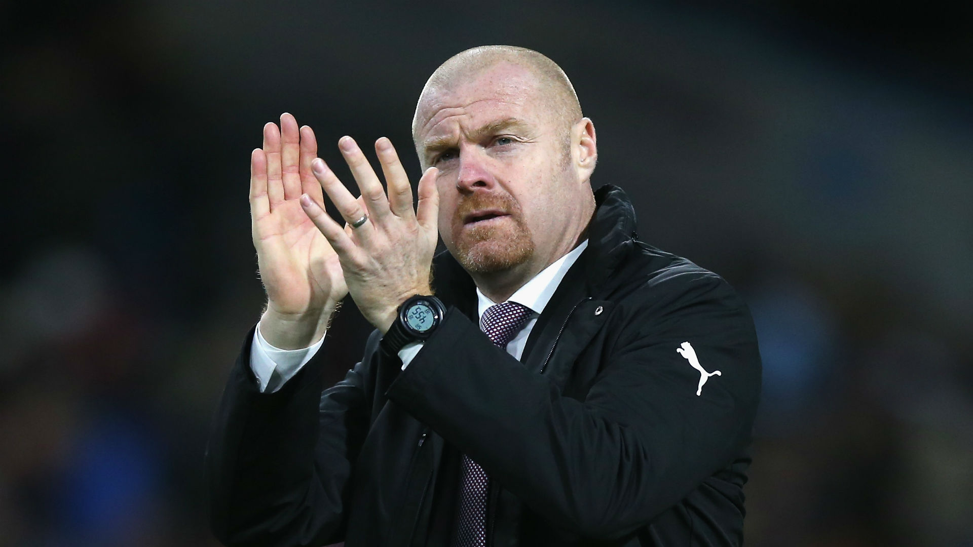 Sean Dyche unconcerned by interest in Burnley players