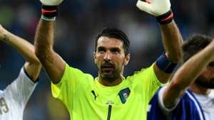 Most capped Europeans Gianluigi Buffon