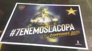 Afiche Boca Copa Libertadores 2018