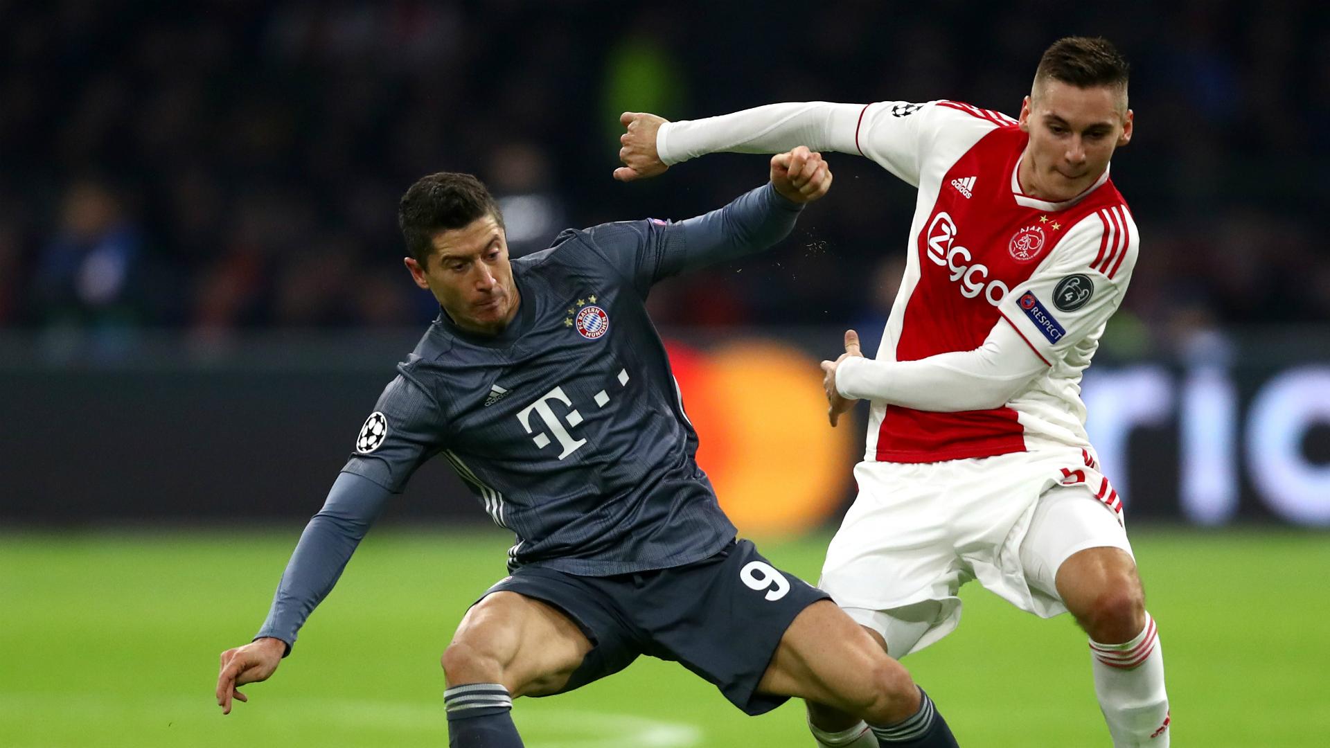 Robert Lewandowski Ajax Bayern Munich