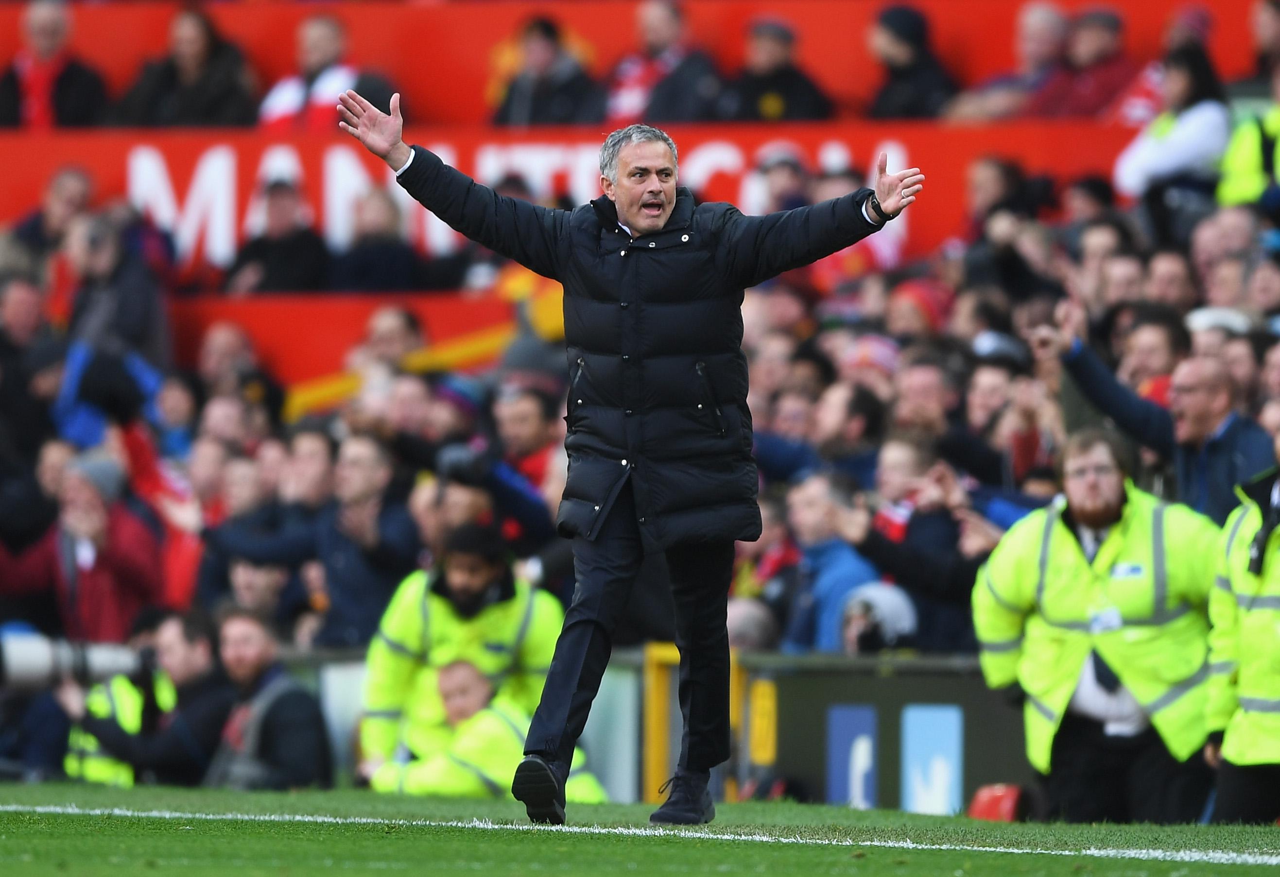 Jose Mourinho Manchester United Arsenal