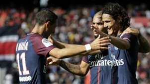 Angel Di Maria Edinson Cavani PSG Ligue 1