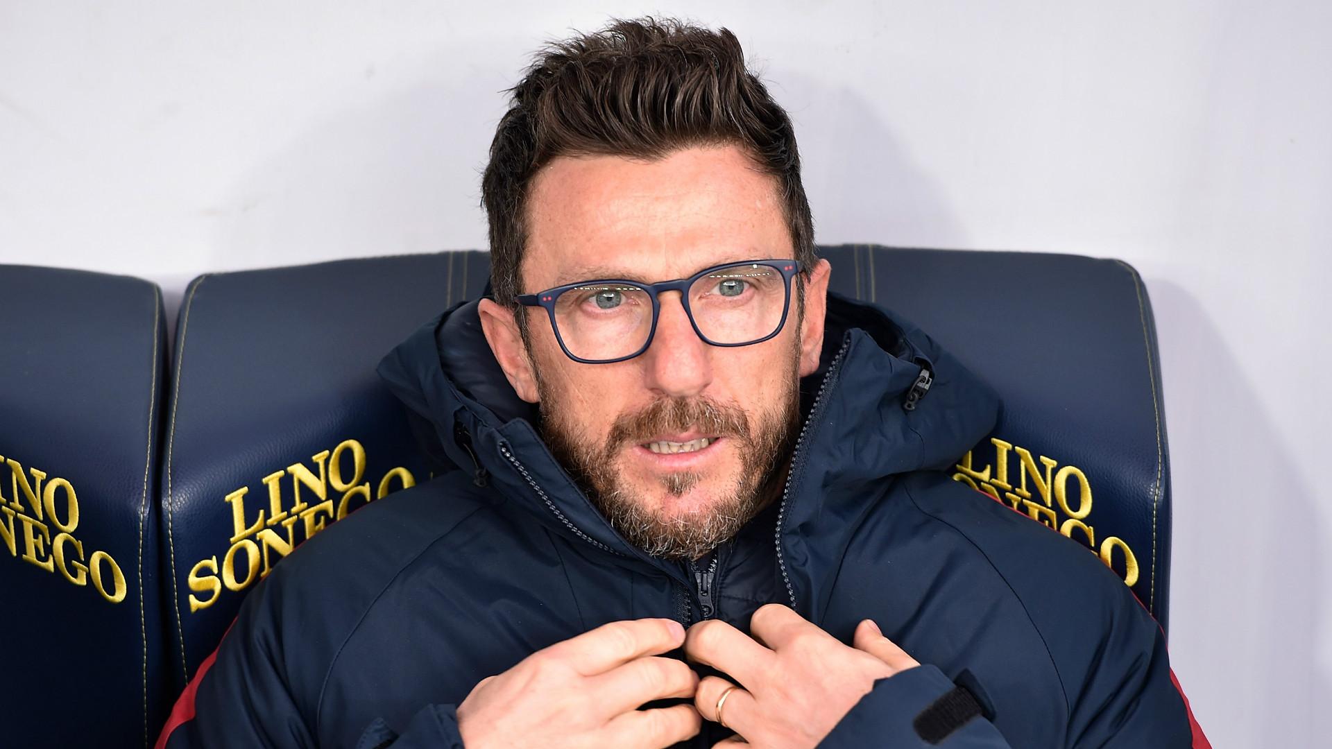 Eusebio di Francesco, Roma, Serie A, 10122017