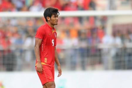 Image result for อ่อง ธู จำรึกชื่อแข้งเมียนมาคนแรกรอบ 21 ปีในไทยลีก
