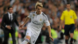 Martin Odegaard Real Madrid