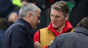 Jose Mourinho & Bastian Schweinsteiger