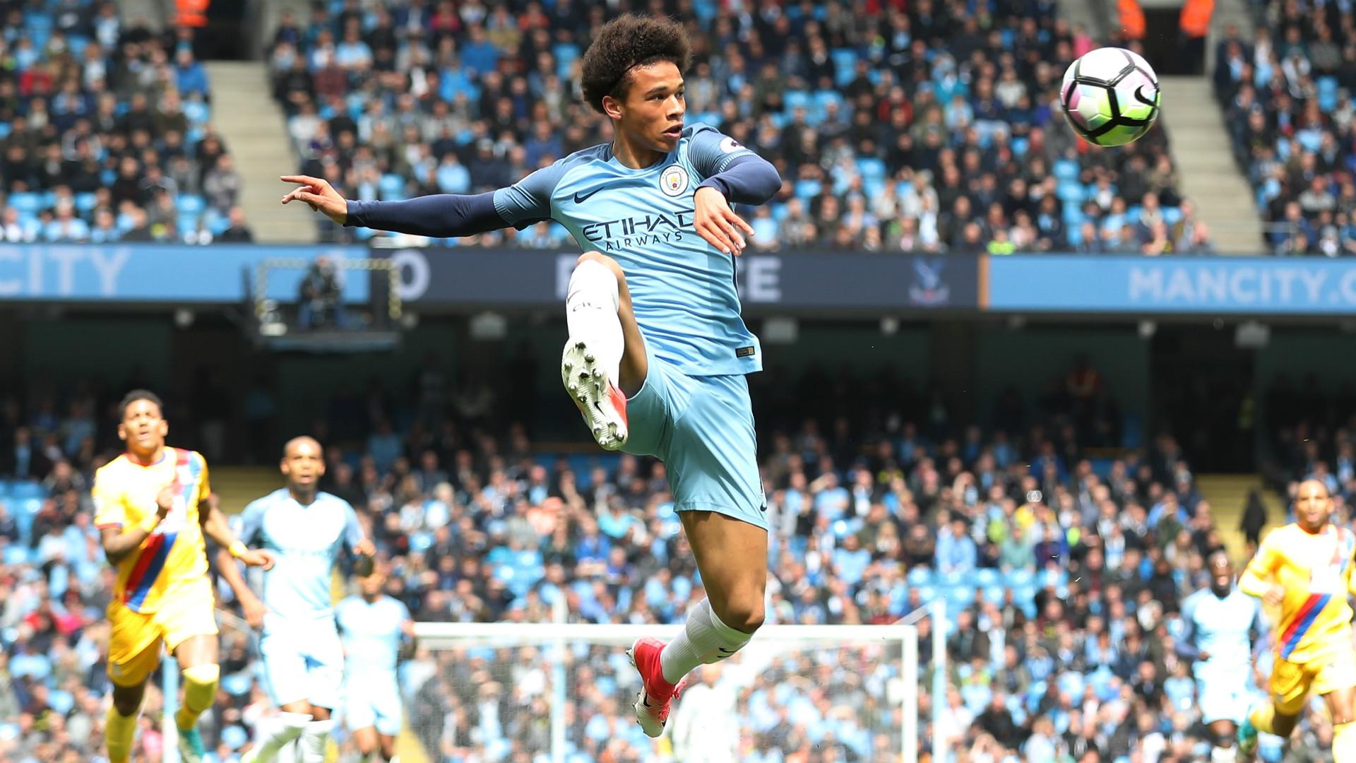 Leroy Sane Manchester City Premier League
