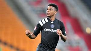 Orlando Pirates striker Lyle Foster