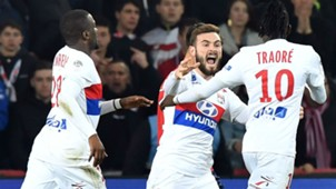 Bertrand Traore Lucas Tousart Lille Lyon Ligue 1 18022018