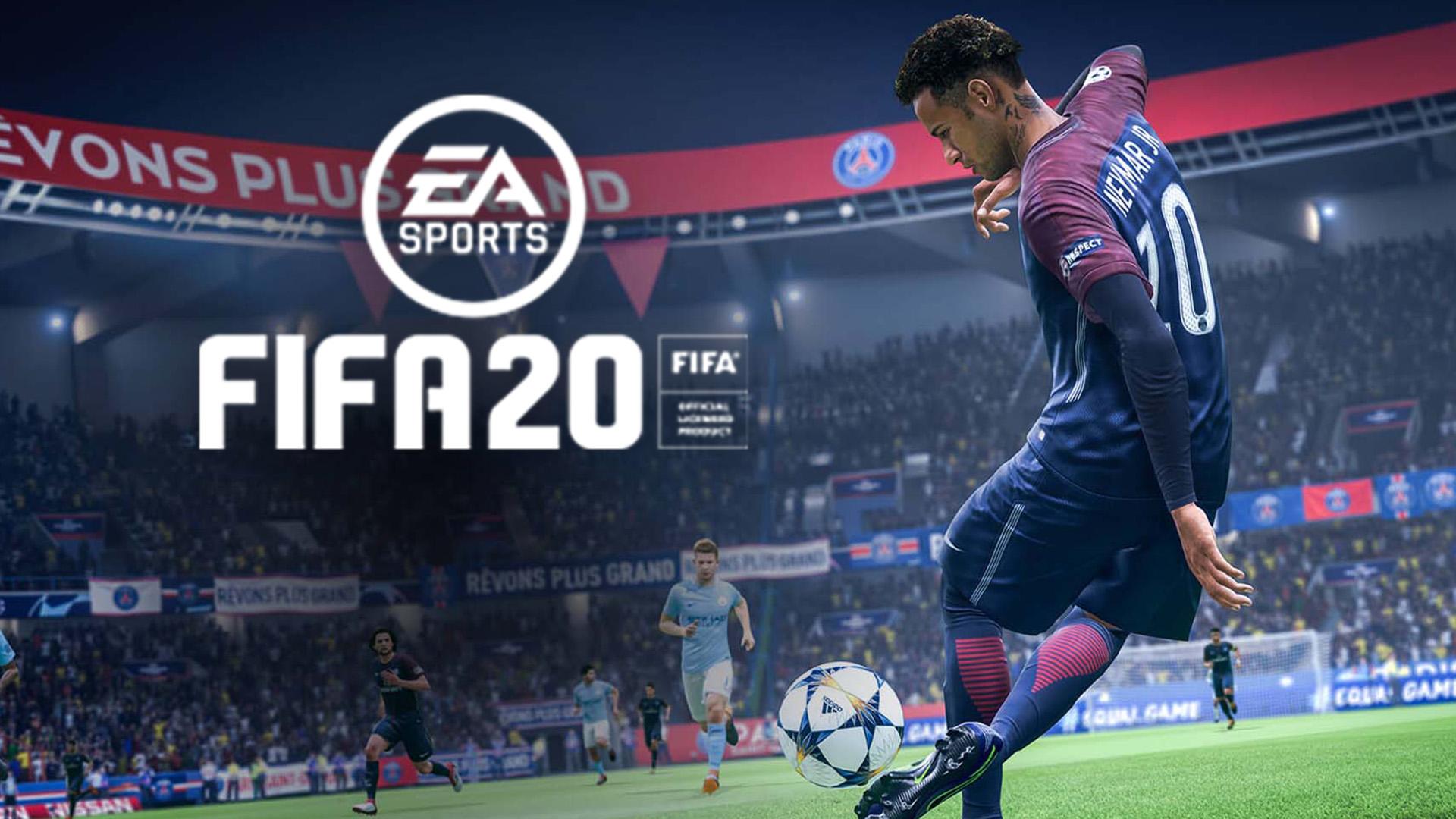 FIFA 20 Neymar dribles
