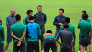 Bima Sakti - Latihan Timnas Indonesia