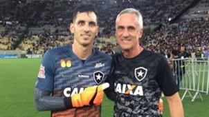 Gatito Flávio Tênius Botafogo 15 04 2018