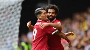 HD Mohamed Salah Roberto Firmino Liverpool