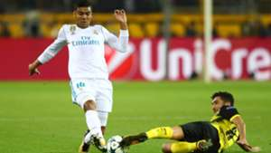 Casemiro Borussia Dortmund Real Madrid UCL 26092017
