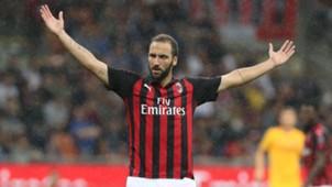 Higuain Milan Roma Serie A