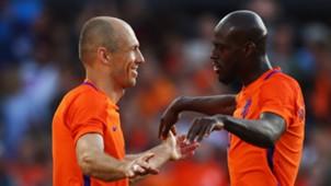 Arjen Robben Bruno Martins Indi Netherlands 04062017