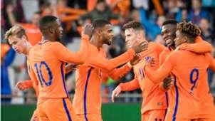 Jong Oranje - Letland, 10062017