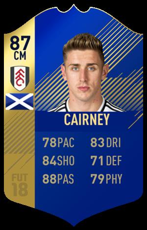 FIFA 18 EFL Team of the Season Cairney