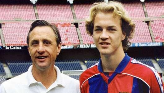 Johan Cruyff Jordi Cruyff Barcelona