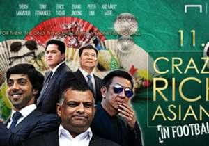 โกล คัด 11 อภิมหาเศรษฐีชาวเอเชียผู้ลงมาคลุกคลีกับวงการฟุตบอลแบบสุดตัว(แบบไม่ได้เรียงลำดับ) จะมีใครบ้าง?